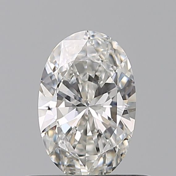 0.40 Carat Oval Loose Diamond, G, VS2, Excellent, GIA Certified