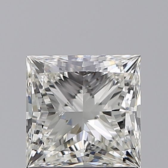 1.00 Carat Princess Loose Diamond, J, SI1, Ideal, GIA Certified
