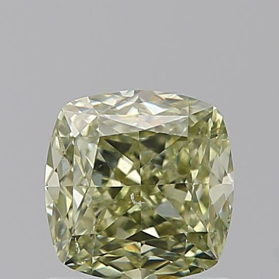 1.01 Carat Cushion Loose Diamond, FANCY, SI2, Excellent, GIA Certified