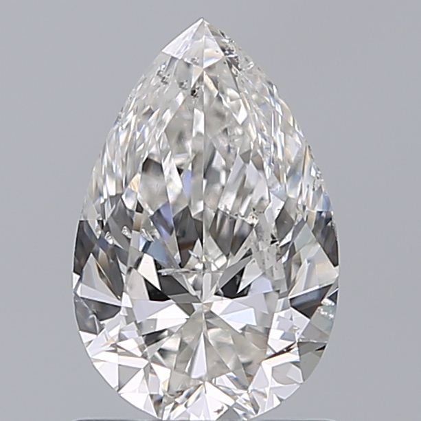 0.96 Carat Pear Loose Diamond, H, SI2, Excellent, GIA Certified