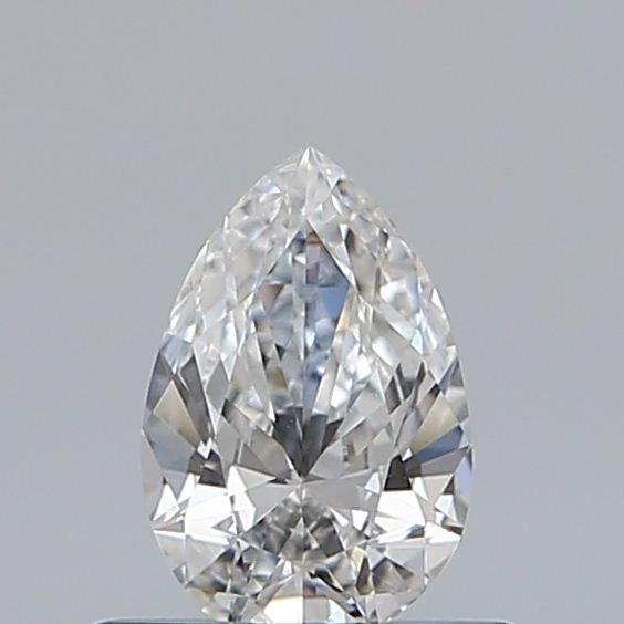 0.40 Carat Pear Loose Diamond, F, SI1, Excellent, GIA Certified