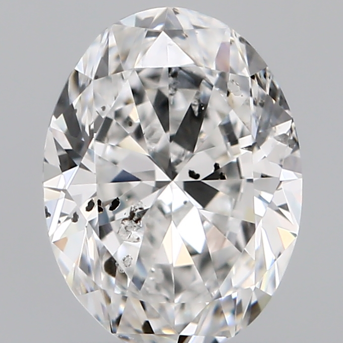 1.00 Carat Oval Loose Diamond, E, I1, Excellent, GIA Certified
