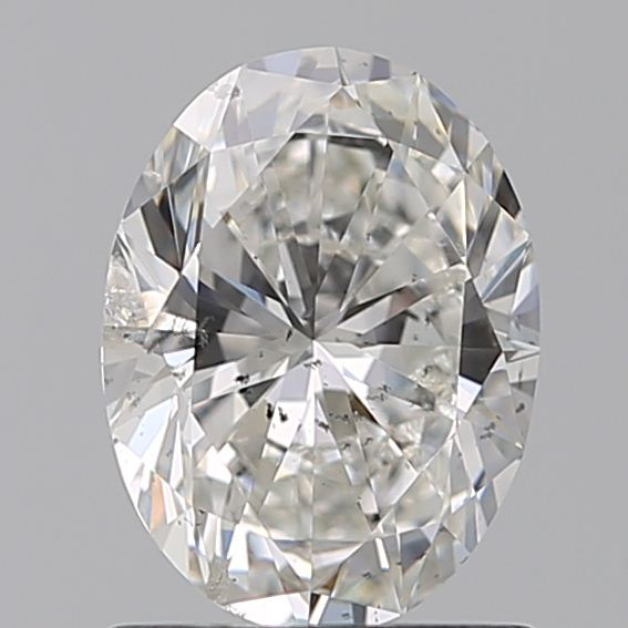 1.02 Carat Oval Loose Diamond, G, SI2, Super Ideal, GIA Certified