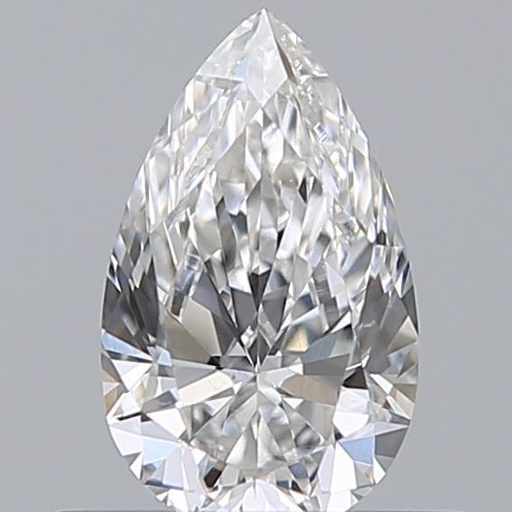 0.40 Carat Pear Loose Diamond, F, SI1, Super Ideal, GIA Certified
