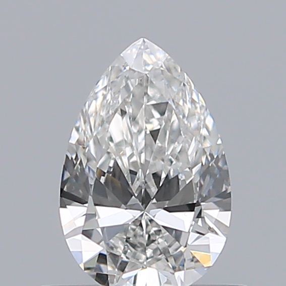 0.42 Carat Pear Loose Diamond, F, VS1, Excellent, GIA Certified