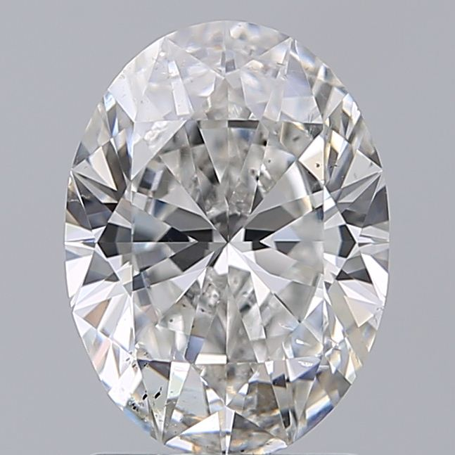1.50 Carat Oval Loose Diamond, F, SI1, Super Ideal, GIA Certified | Thumbnail