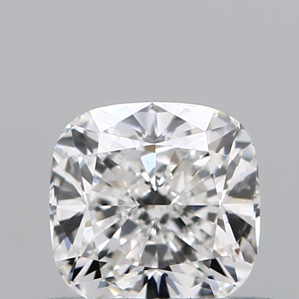 0.54 Carat Cushion Loose Diamond, F, VVS2, Ideal, GIA Certified | Thumbnail