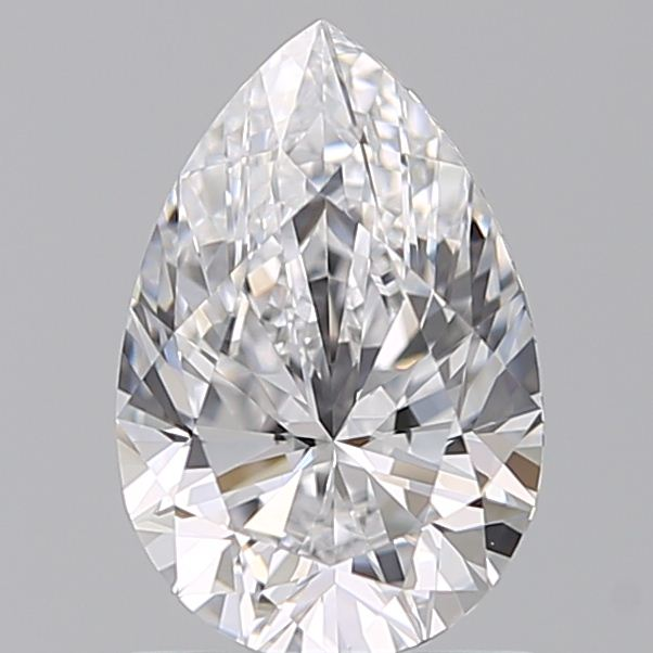 1.05 Carat Pear Loose Diamond, D, VVS1, Super Ideal, GIA Certified