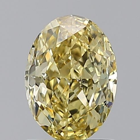 1.13 Carat Oval Loose Diamond, FANCY, SI1, Excellent, GIA Certified