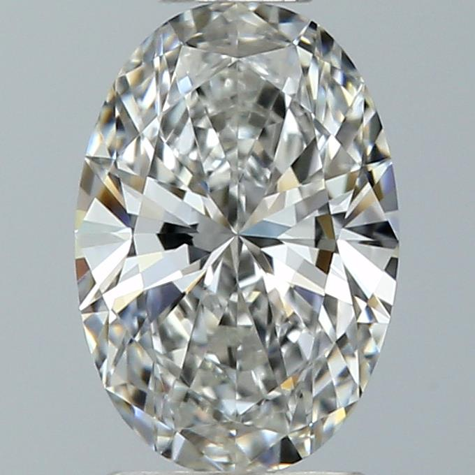 0.50 Carat Oval Loose Diamond, F, VVS1, Super Ideal, GIA Certified