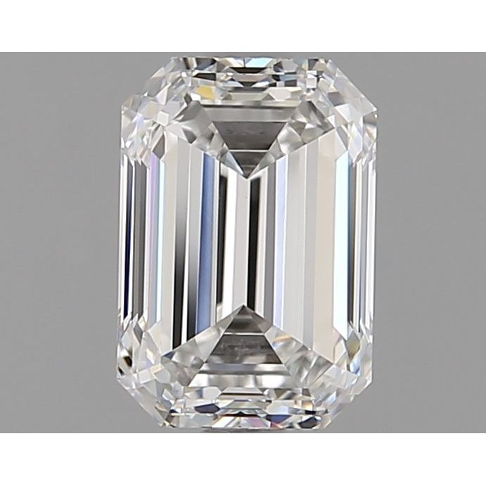 1.72 Carat Emerald Loose Diamond, F, VVS2, Ideal, GIA Certified