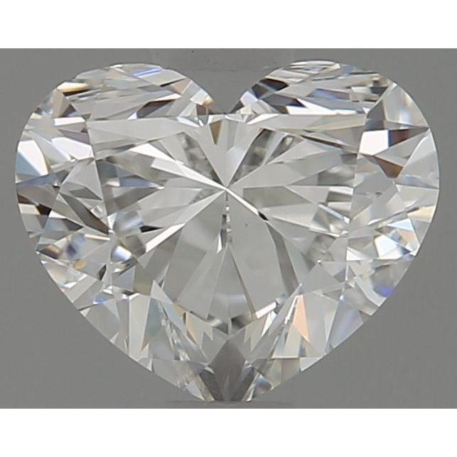 0.72 Carat Heart Loose Diamond, G, VVS2, Super Ideal, GIA Certified