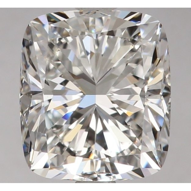 1.72 Carat Cushion Loose Diamond, F, VS1, Excellent, GIA Certified