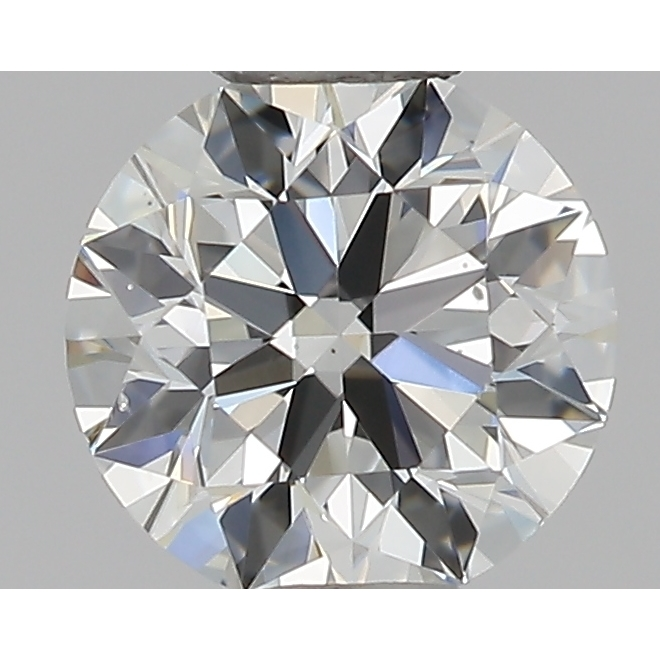 0.46 Carat Round Loose Diamond, G, VS2, Ideal, GIA Certified