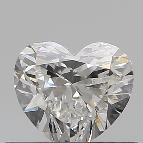 0.33 Carat Heart Loose Diamond, D, IF, Excellent, GIA Certified
