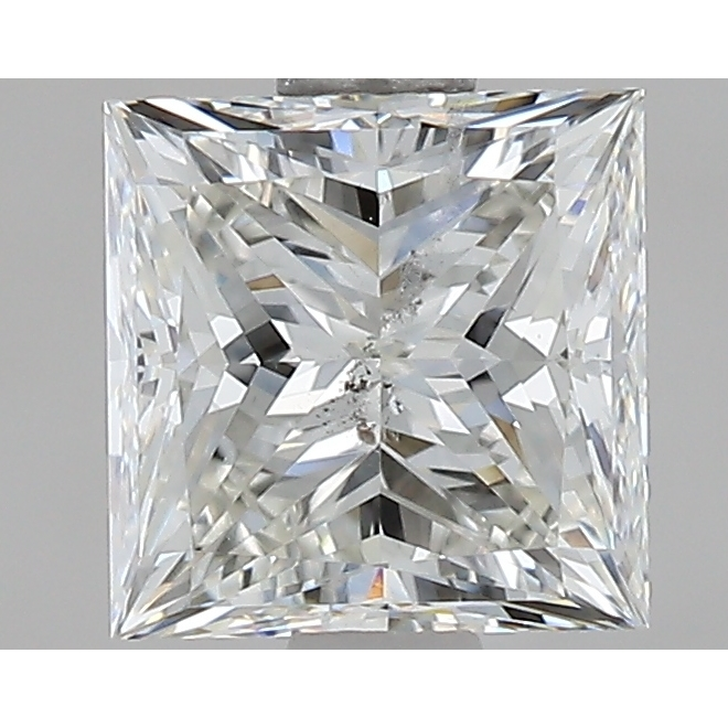 1.29 Carat Princess Loose Diamond, I, SI2, Super Ideal, GIA Certified