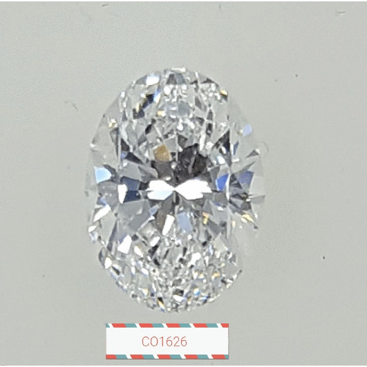 1.22 Carat Oval Loose Diamond, D, VS2, Super Ideal, GIA Certified