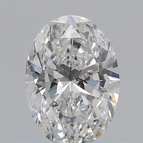 0.50 Carat Oval Loose Diamond, F, SI2, Super Ideal, GIA Certified | Thumbnail