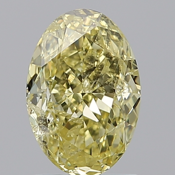 1.60 Carat Oval Loose Diamond, FANCY, I1, Excellent, GIA Certified