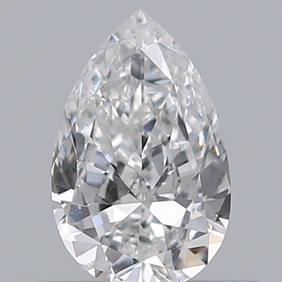 0.35 Carat Pear Loose Diamond, F, VS2, Very Good, GIA Certified