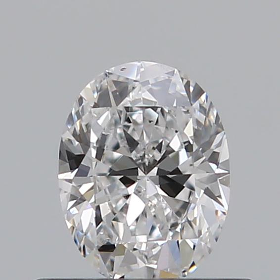 0.40 Carat Oval Loose Diamond, D, VS2, Ideal, GIA Certified | Thumbnail