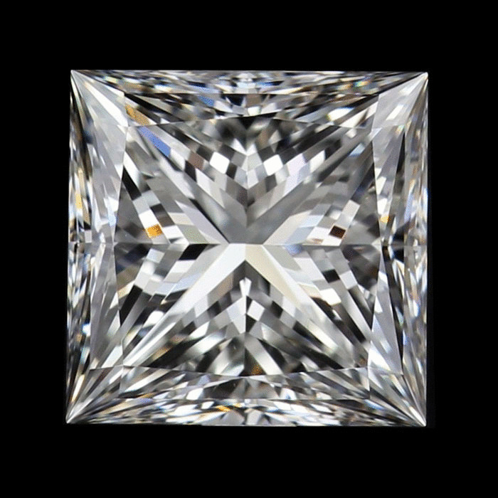 2.01 Carat Princess Loose Diamond, H, VVS2, Super Ideal, GIA Certified