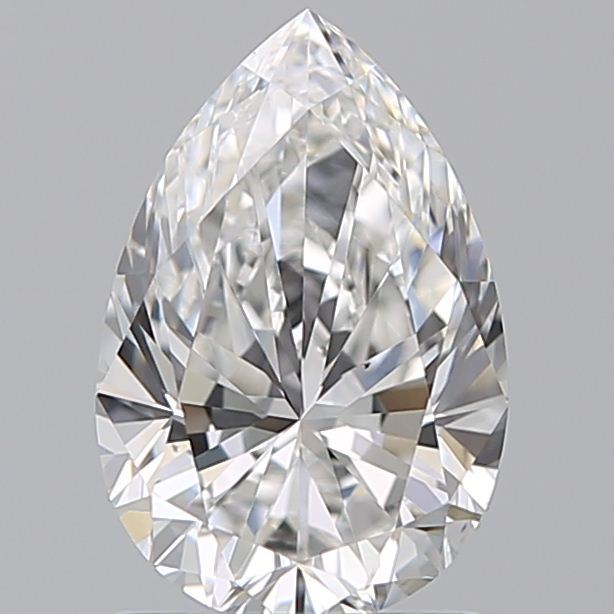 1.21 Carat Pear Loose Diamond, F, VS2, Super Ideal, GIA Certified