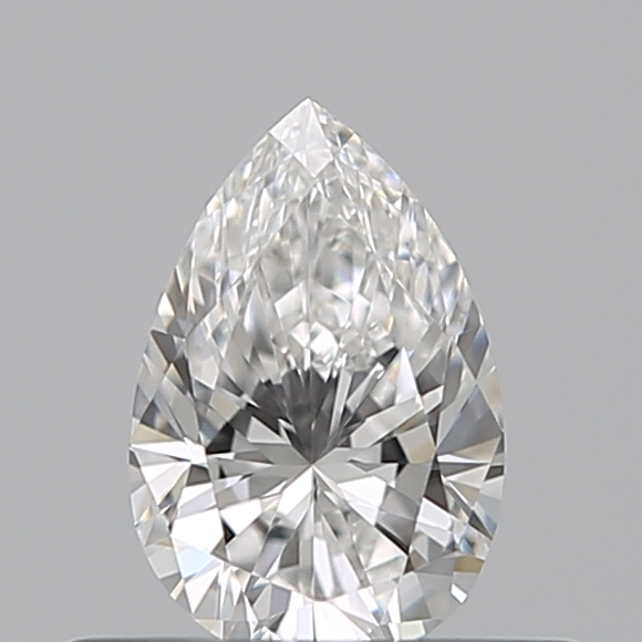 0.33 Carat Pear Loose Diamond, F, VS2, Ideal, GIA Certified | Thumbnail