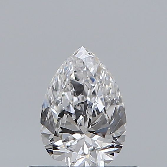 0.40 Carat Pear Loose Diamond, D, VS1, Excellent, GIA Certified