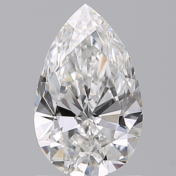 0.96 Carat Pear Loose Diamond, E, VS1, Super Ideal, GIA Certified