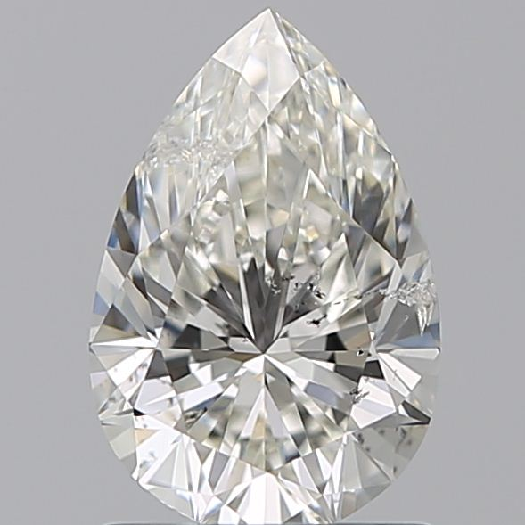 1.01 Carat Pear Loose Diamond, I, SI2, Super Ideal, GIA Certified | Thumbnail
