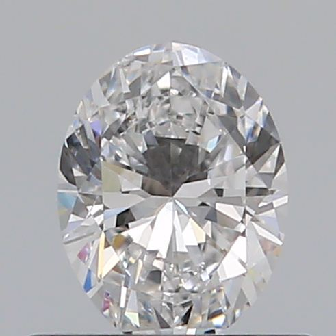 0.40 Carat Oval Loose Diamond, D, SI1, Ideal, GIA Certified