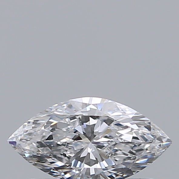0.30 Carat Marquise Loose Diamond, D, VS2, Ideal, GIA Certified