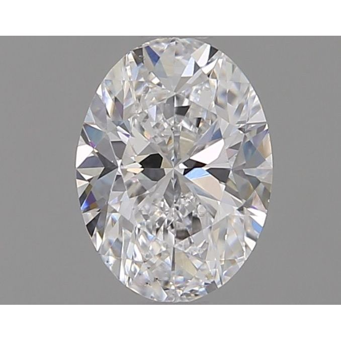 0.70 Carat Oval Loose Diamond, D, SI1, Ideal, GIA Certified