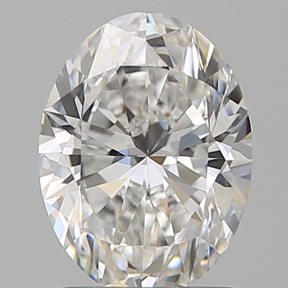 1.29 Carat Oval Loose Diamond, F, VS1, Super Ideal, GIA Certified | Thumbnail