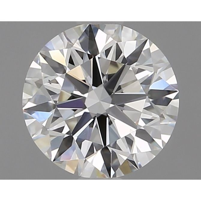 1.10 Carat Round Loose Diamond, I, VS1, Super Ideal, GIA Certified