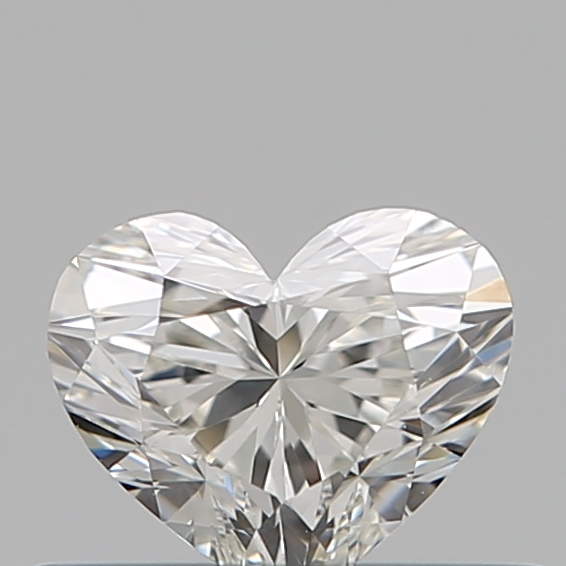 0.33 Carat Heart Loose Diamond, H, SI1, Super Ideal, GIA Certified | Thumbnail