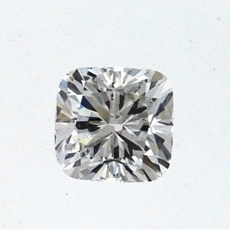 1.02 Carat Cushion Loose Diamond, H, SI2, Ideal, GIA Certified