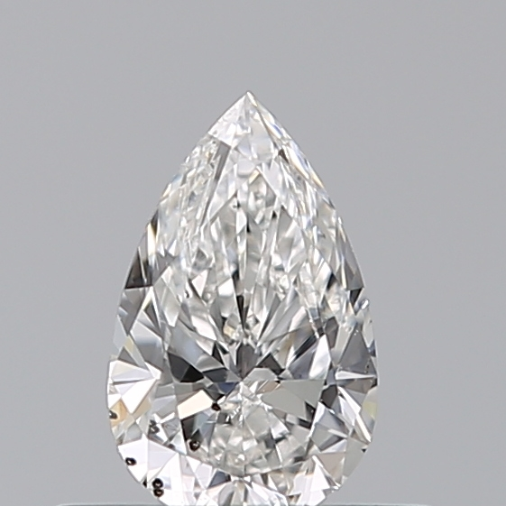 0.35 Carat Pear Loose Diamond, F, SI2, Super Ideal, GIA Certified | Thumbnail