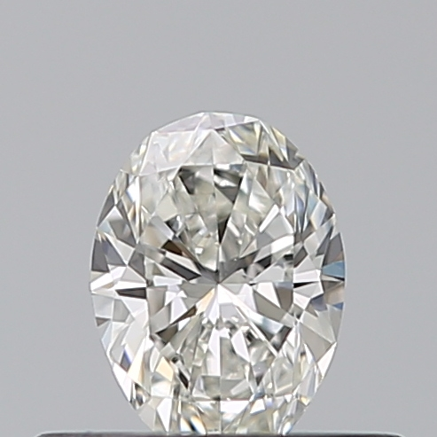 0.30 Carat Oval Loose Diamond, H, IF, Ideal, GIA Certified