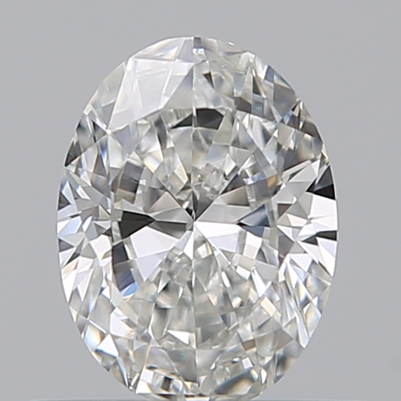 0.42 Carat Oval Loose Diamond, F, VVS1, Excellent, GIA Certified