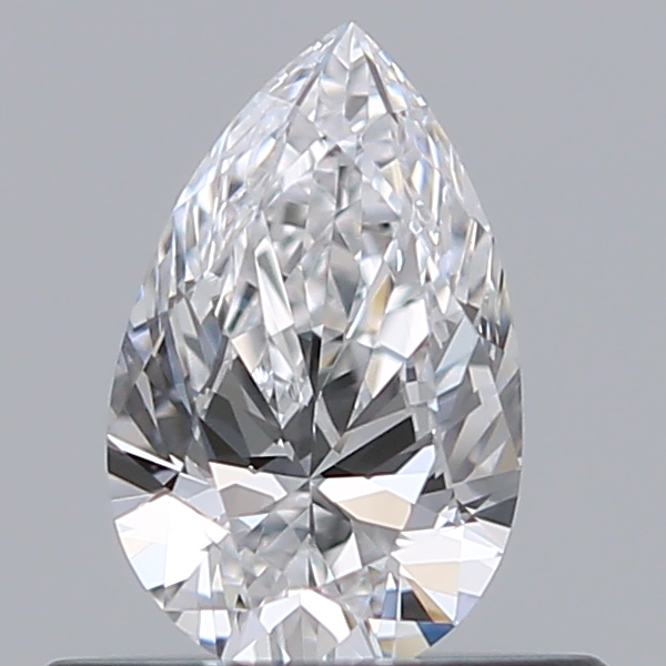 0.38 Carat Pear Loose Diamond, D, VS2, Ideal, GIA Certified