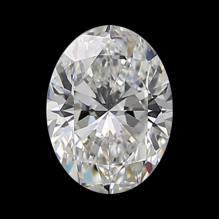 1.82 Carat Oval Loose Diamond, H, IF, Super Ideal, GIA Certified