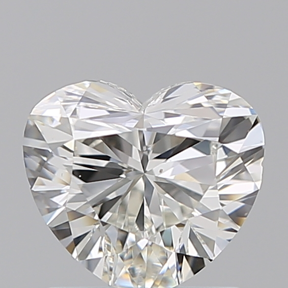 1.00 Carat Heart Loose Diamond, I, VS2, Ideal, GIA Certified | Thumbnail