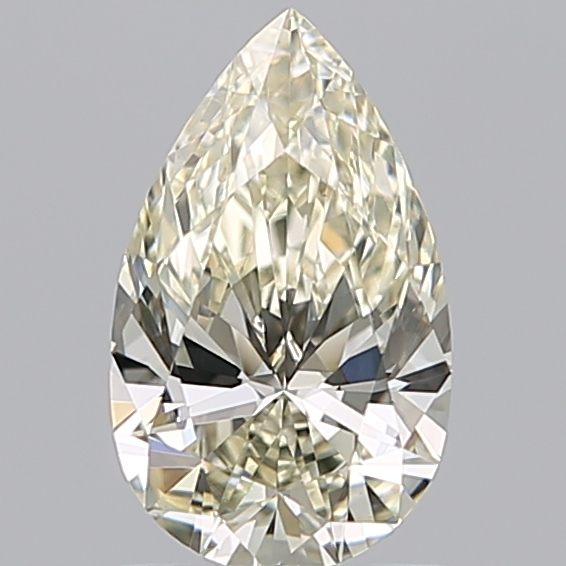 0.96 Carat Pear Loose Diamond, L, VS1, Super Ideal, GIA Certified