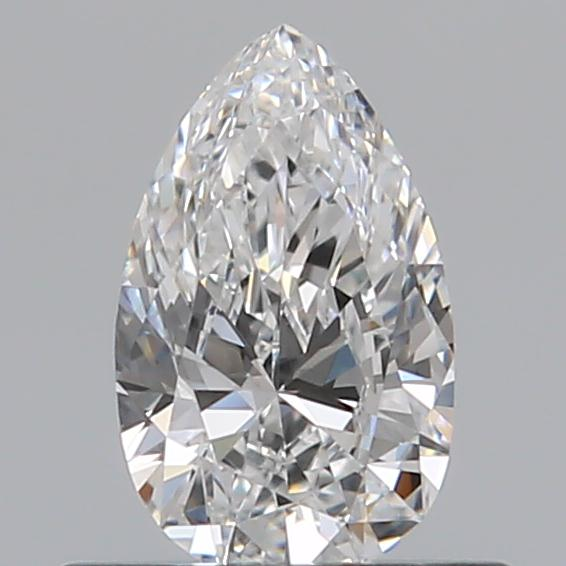0.40 Carat Pear Loose Diamond, E, VS1, Excellent, GIA Certified