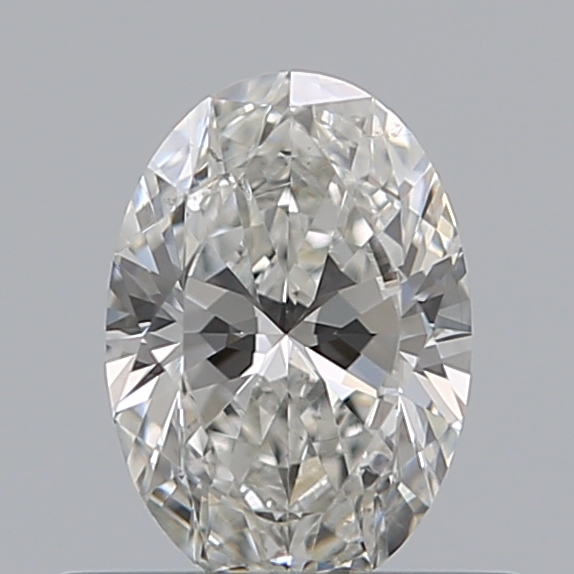 0.43 Carat Oval Loose Diamond, G, VS2, Super Ideal, GIA Certified