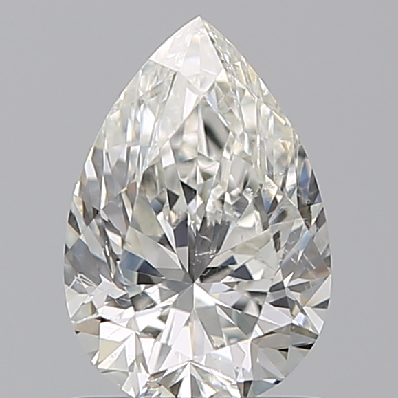 1.00 Carat Pear Loose Diamond, I, SI1, Ideal, GIA Certified