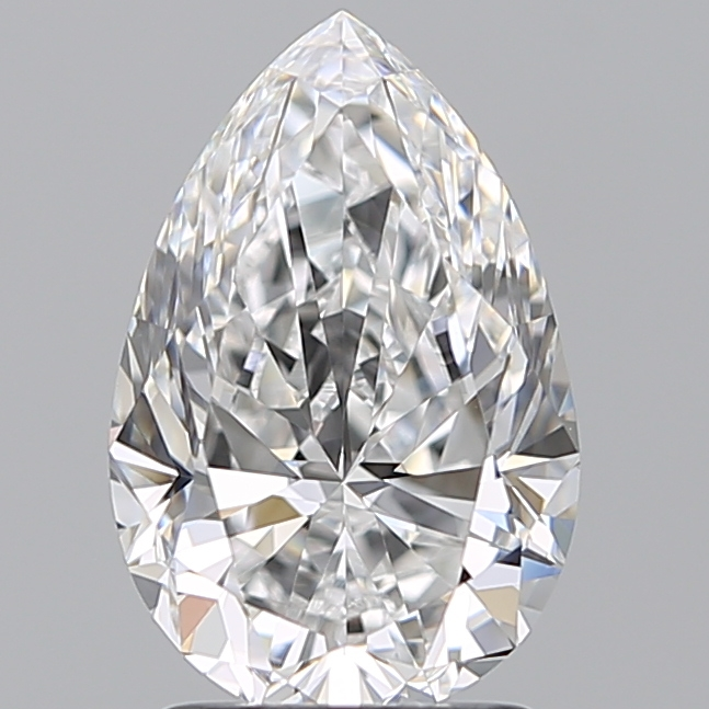 2.01 Carat Pear Loose Diamond, D, VVS1, Super Ideal, GIA Certified