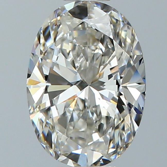 0.76 Carat Oval Loose Diamond, I, VVS1, Super Ideal, GIA Certified